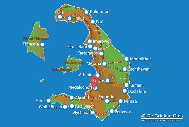 Uitstapjes / Trips vanaf Megalochori