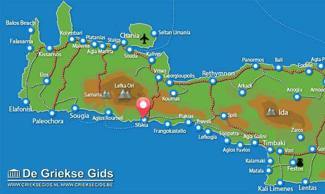 Uitstapjes / Trips vanaf Sfakia