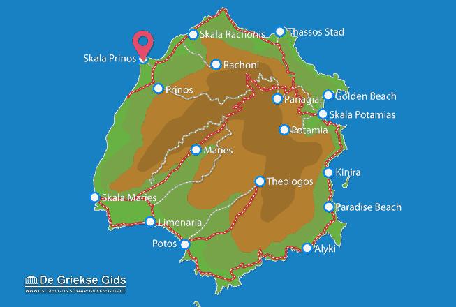 Uitstapjes / Trips vanaf Skala Prinos