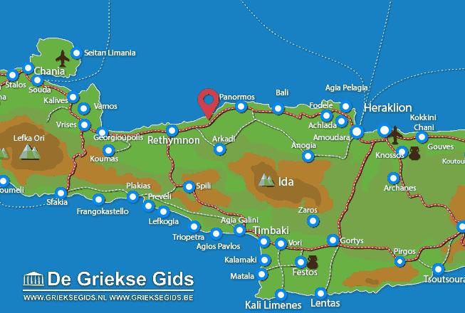 Uitstapjes / Trips vanaf Stavromenos