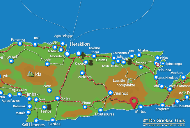 Uitstapjes / Trips vanaf Tertsa