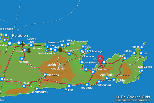 Uitstapjes / Trips vanaf Tholos