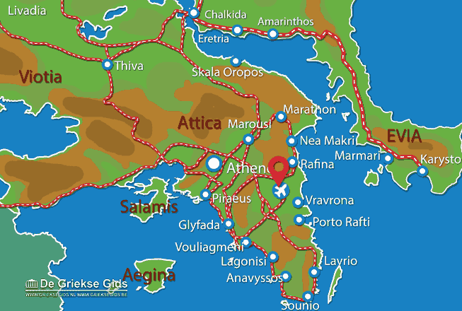 Uitstapjes / Trips vanaf Luchthaven Athene