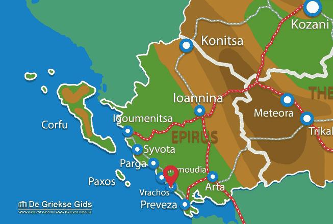Uitstapjes / Trips vanaf Vrachos