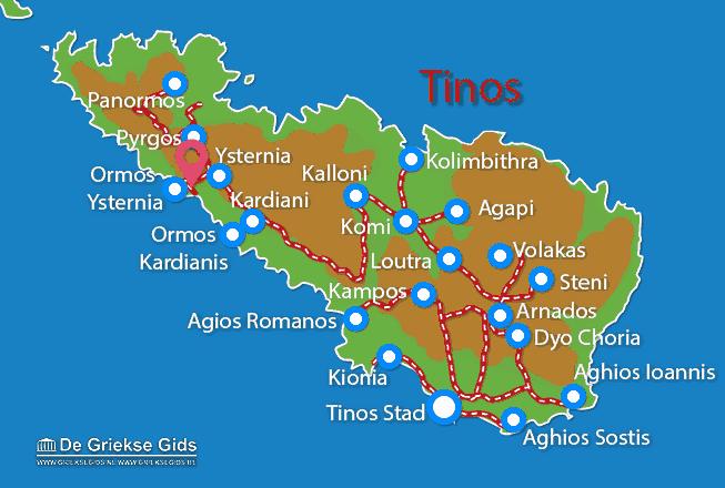 Uitstapjes / Trips vanaf Ysternia