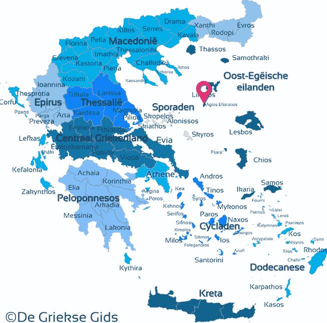 Waar ligt Agios Efstratios
