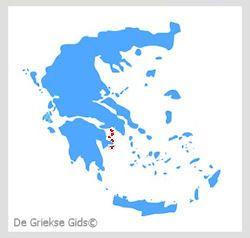 Waar liggen de Saronische eilanden? - De Griekse eilanden