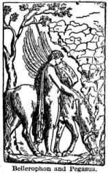 Bellerophon en Pagasus