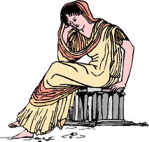 Demeter godin van de vruchtbaarheid