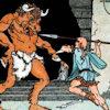 de Minotaurus en de Griekse held Theseus