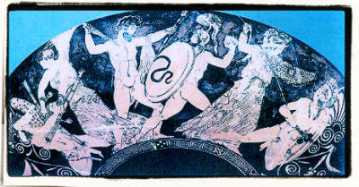 Giganten Griekse mythologie