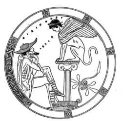 Oedipus en de sfinx