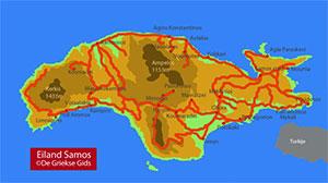 Interactieve kaart Samos