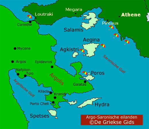 Argo-Saronic Gulf Islands
