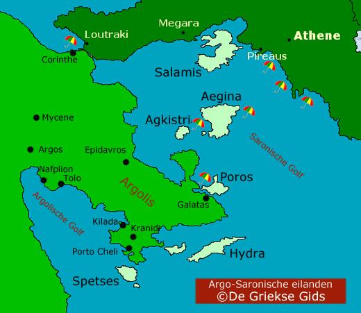 Argo-Saronische eilanden