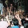 De kerk in Griekenland
