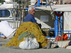 Agia Galini visser